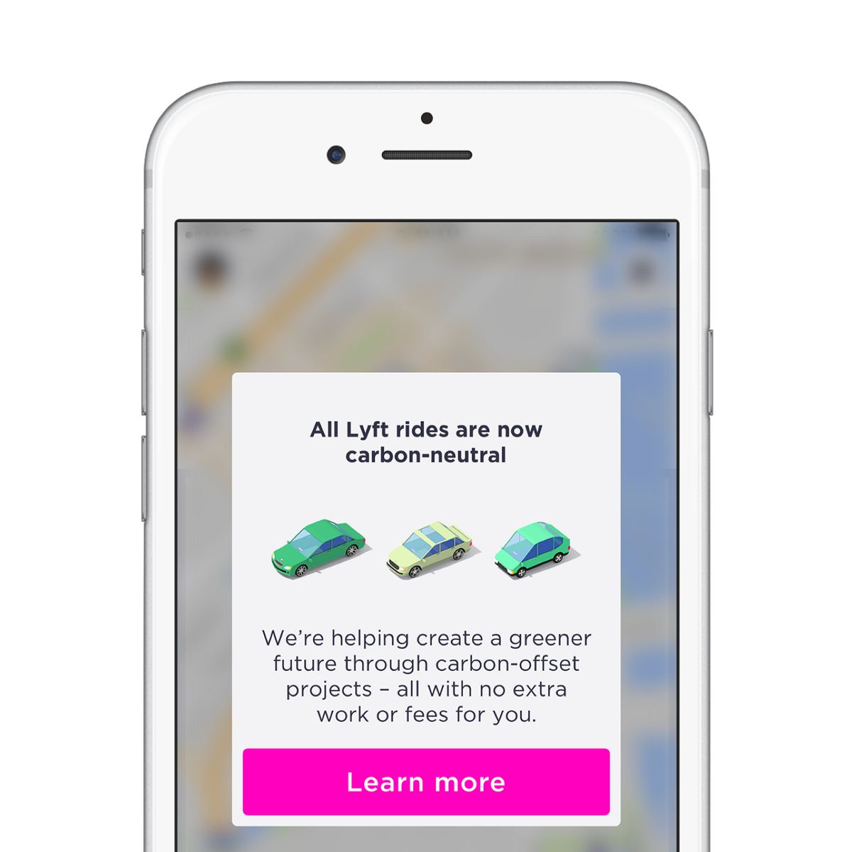 Lyft plans to offset carbon emissions from rides to fight climate change
