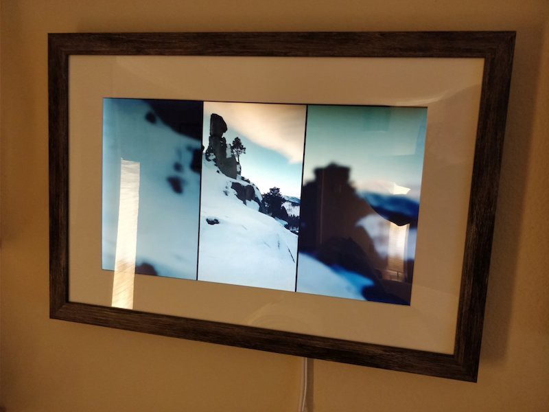 Big And Smart Raspberry Pi Picture Frame Hackster Blog