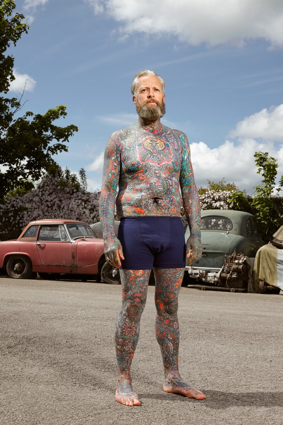 Full-Body Tattooed Brits Show Off Some Proper Ink -8642