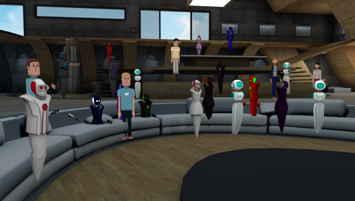 How To Hold A Meeting In Virtual Reality Altspacevr Medium