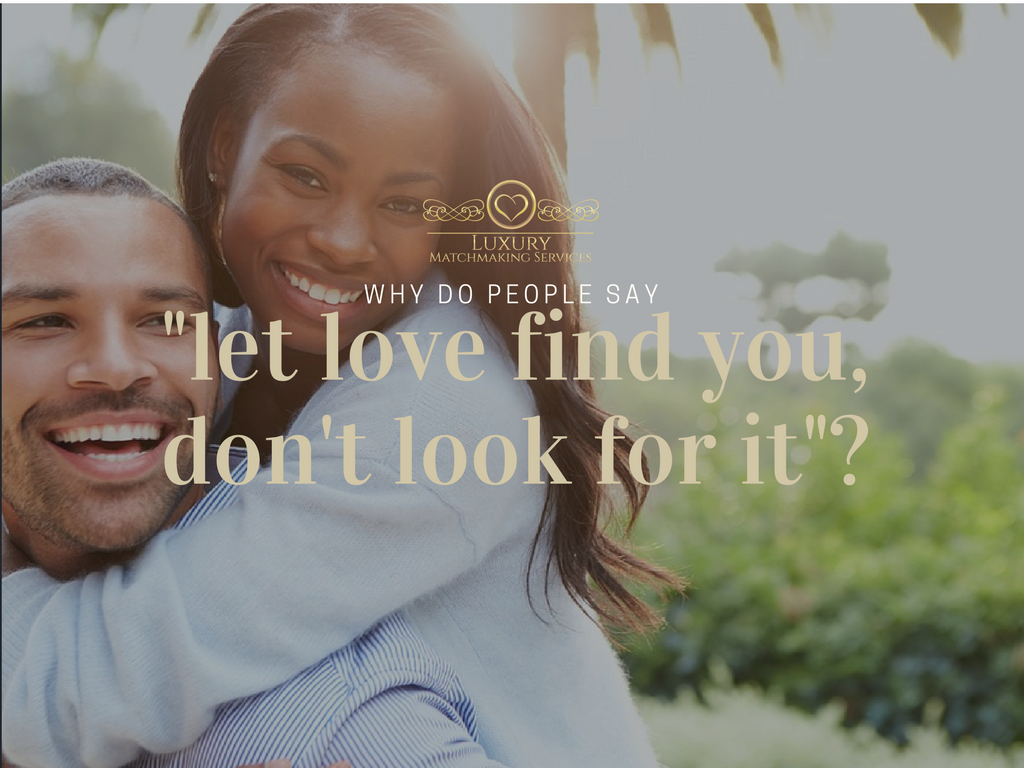 why do people look for love