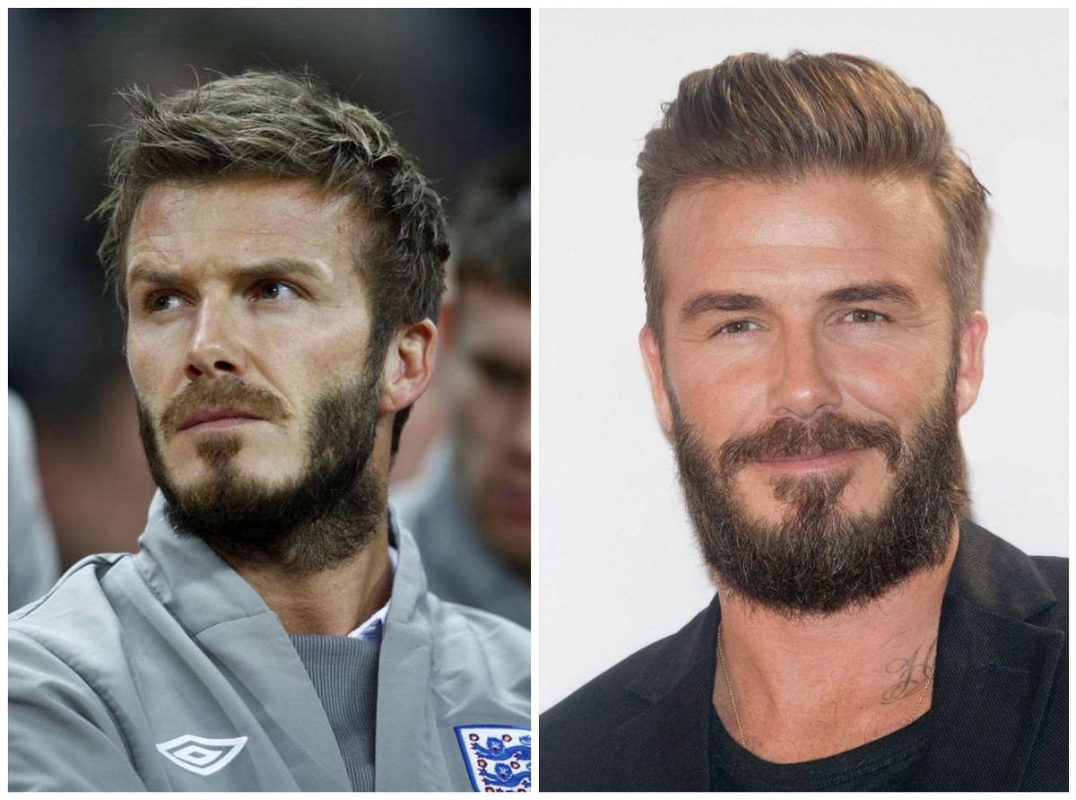 Beard It Like Beckham David Beckham Has Facial Hair