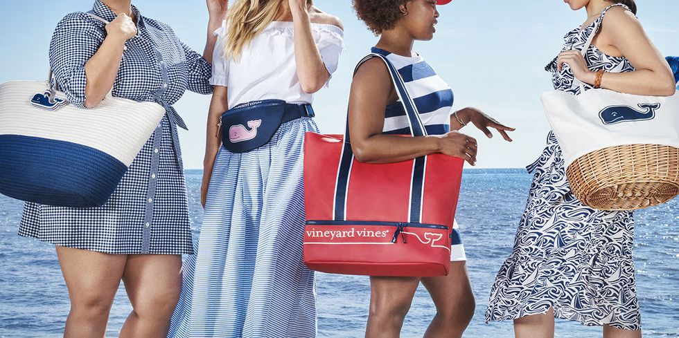7989ae45ee The summer-inspired Vineyard Vines for Target collection arrives Saturday  in stores and online. Fans of the designer brand best known for its smiling  pink ...