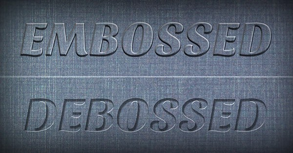 Photoshop Tutorial Create Awesome Emboss Amp Deboss Effects