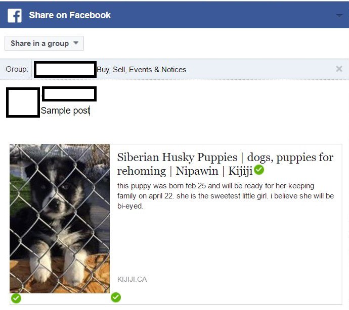 why are animal for sale posts being deleted by facebook