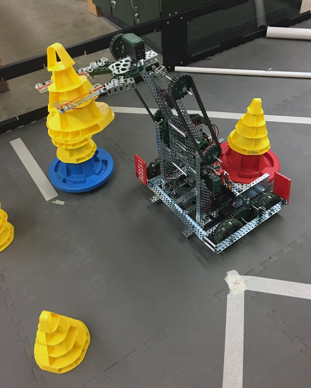 Wths Engineering And Robotics Club Competes In Vex Robotics Competition