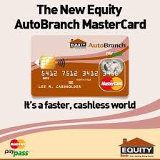 equity master cardequity visa card given to any equity bank account holder get it from any equity branch in a under a few minutes - How To Get A Prepaid Card