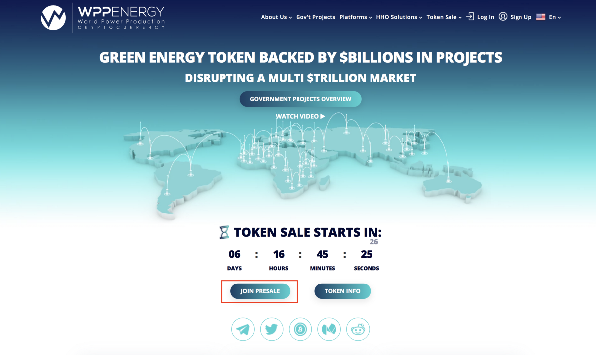 How to Participate in the WPP Token Sale's Events – WPP ENERGY – Medium