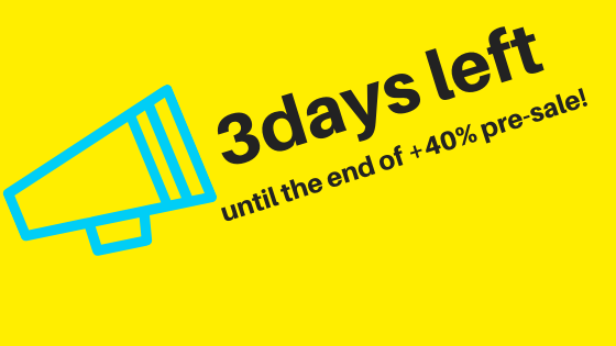 3days left until the end of +40% pre-sale! – ICOVO – Medium