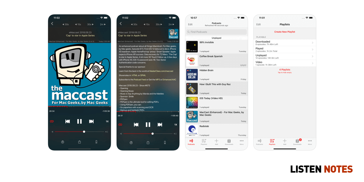 The Only Podcast App List You'll Ever Need in 2019 | Listen Notes