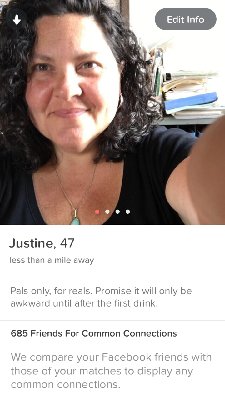 standard dating profile