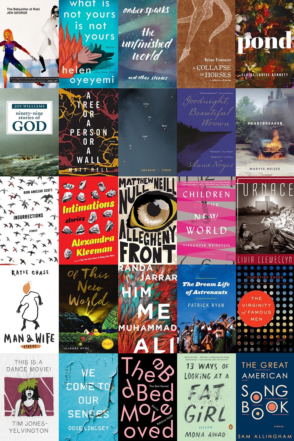 electric literature s 25 best short story collections of 2016