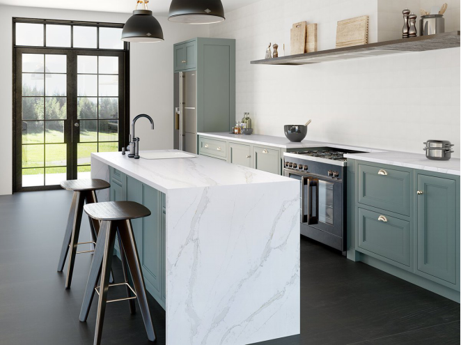 Deriving Absolute Inspiration From The Italian Statuario Marble Silestone Eternal Quartz Resembles Natural Stone In Earance But With