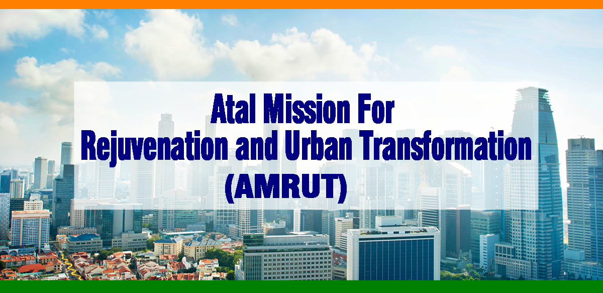 Image result for Atal Mission for Rejuvenation and Urban Transformation