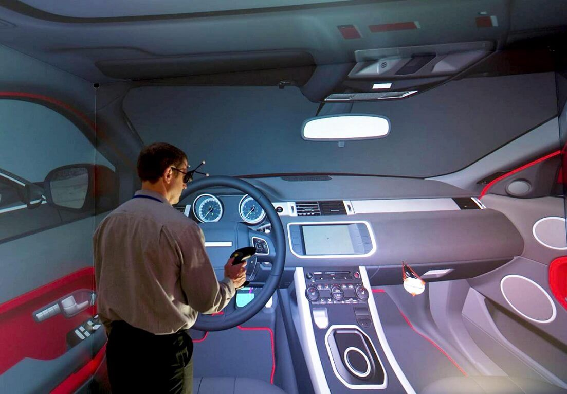 virtual reality applications   automotive industry