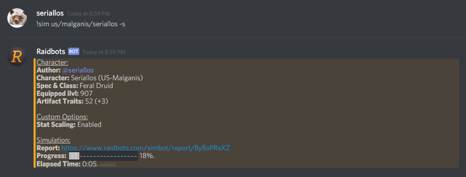 how to slash text in discord