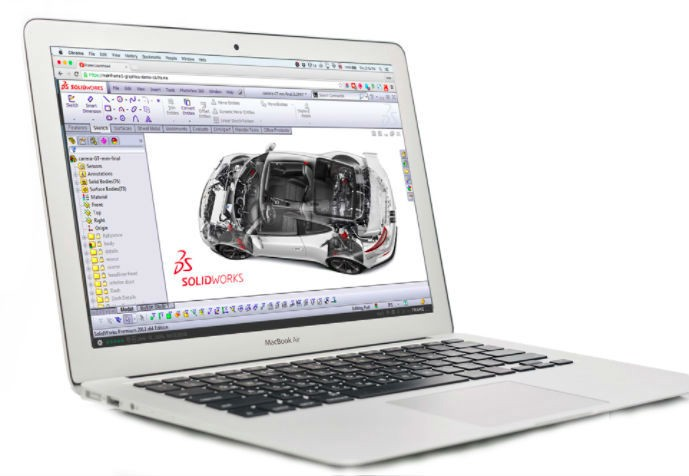 Work from Anywhere. On Any Device. With SOLIDWORKS + Frame.