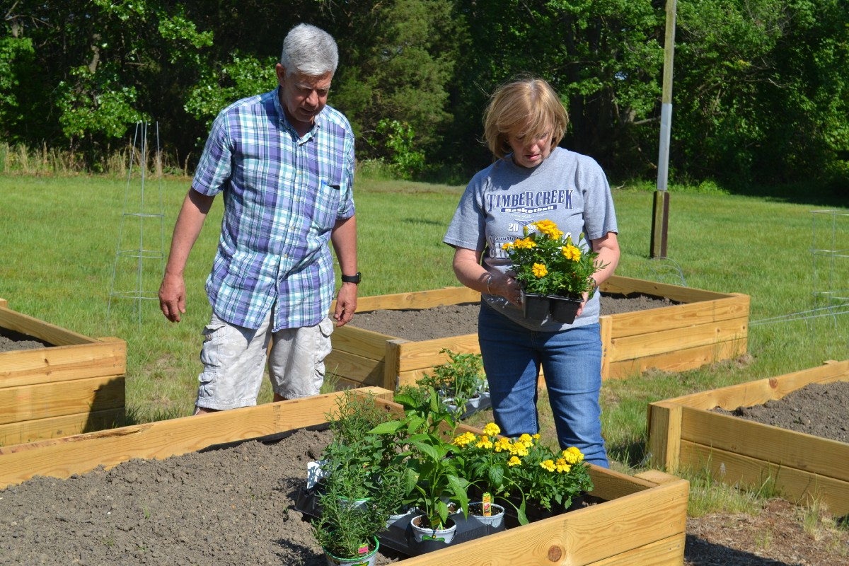 On Thursday, May 18, The Gloucester Township Family Resource Center And The  Kiwanis Club Joined With Local Kids To Plant A Community Childrenu0027s Garden