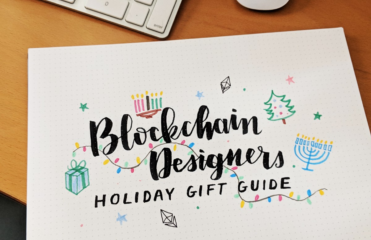 Blockchain Designers Holiday Gift Guide