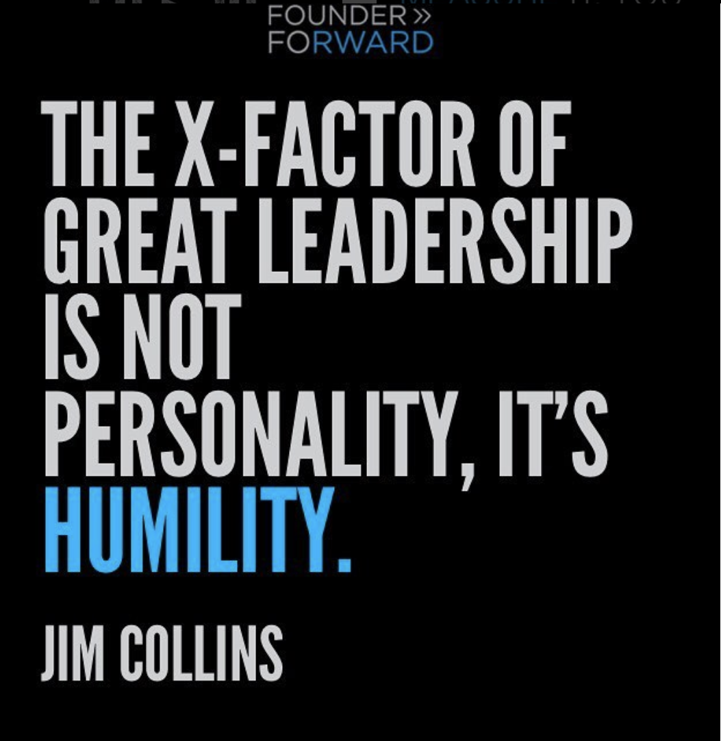 great leadership is about humility and serving not ego and directing