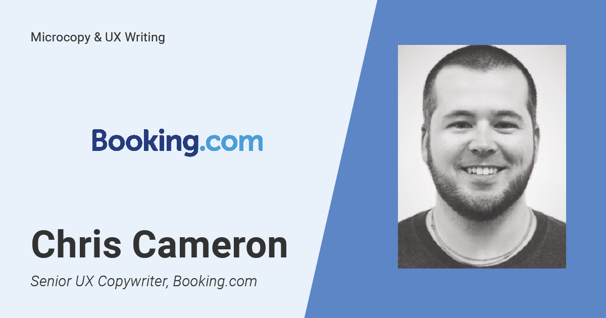 Interview With A Senior UX Writer From Booking.com