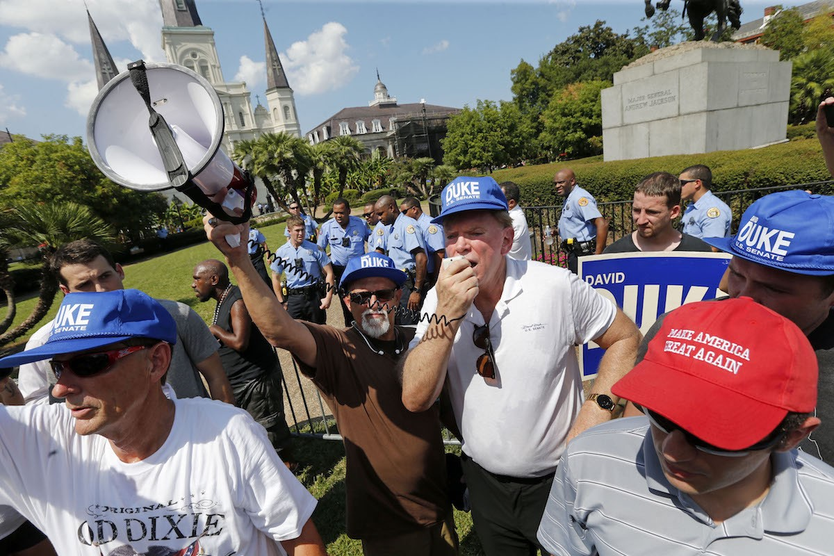 David Duke's inclusion derails Louisiana Senate debate at historically black college