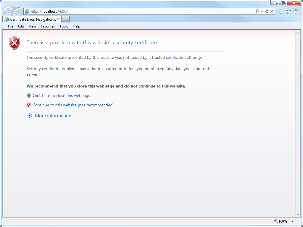 How To Trust A Self Signed Ssl Certificate In Ie11 And Edge