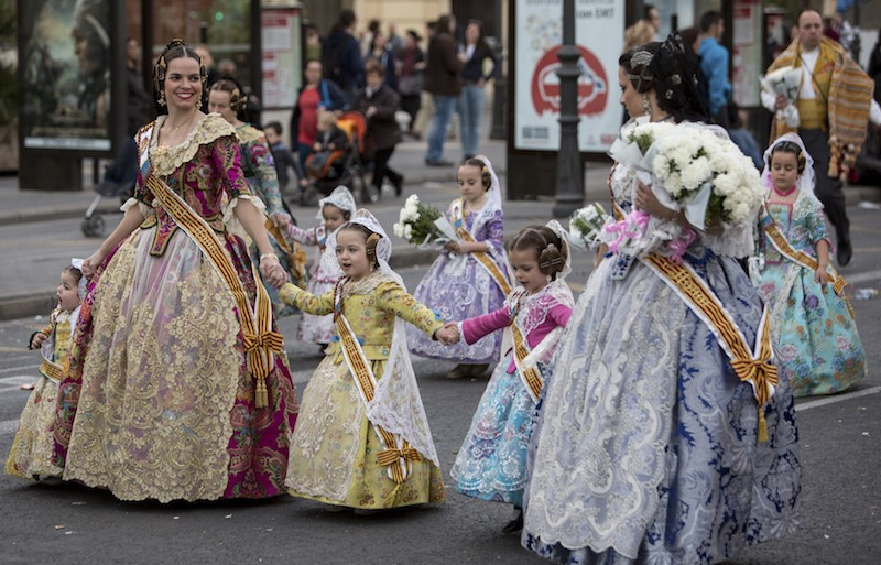 341b7c27d15 These costumes are normally worn during the festival of Las Fallas that is  celebrated in March. However