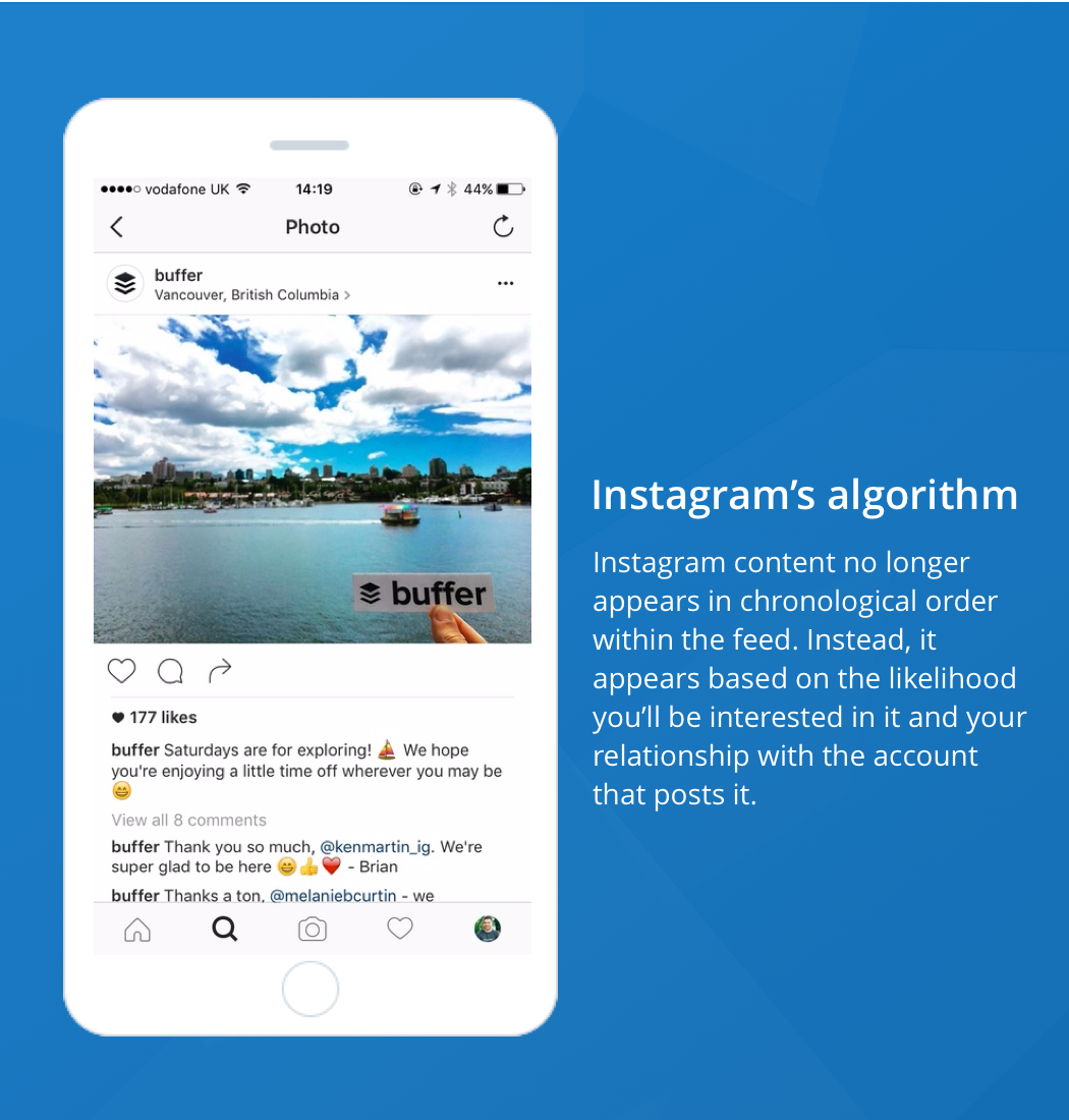 This Means That The Vast Majority Of Content On Your Instagram Feed Goes  Unseen And Users Could Be Missing Posts From Their Close Friends And  Favorite ...