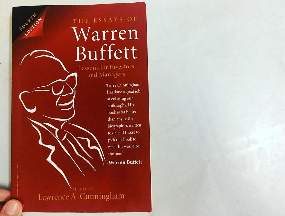 The essays of warren buffett a must read for any serious investor