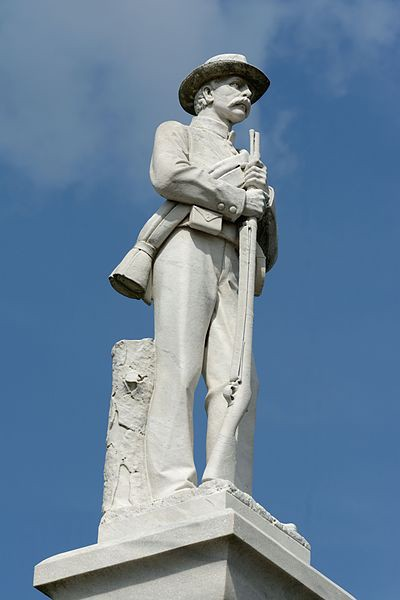The Confederate Memorial On My Courthouse Lawn Jake