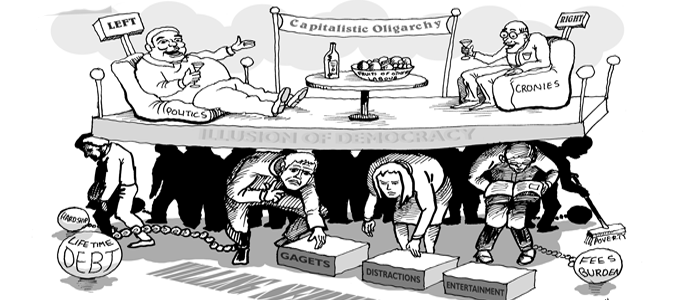 on russia media the authoritarian state and the oligarchy