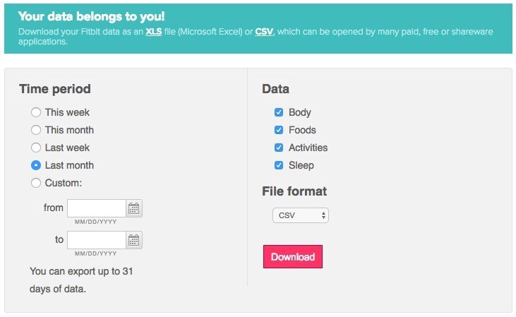 """When Fitbit says """"Your data belongs to you!""""… – Towards ..."""