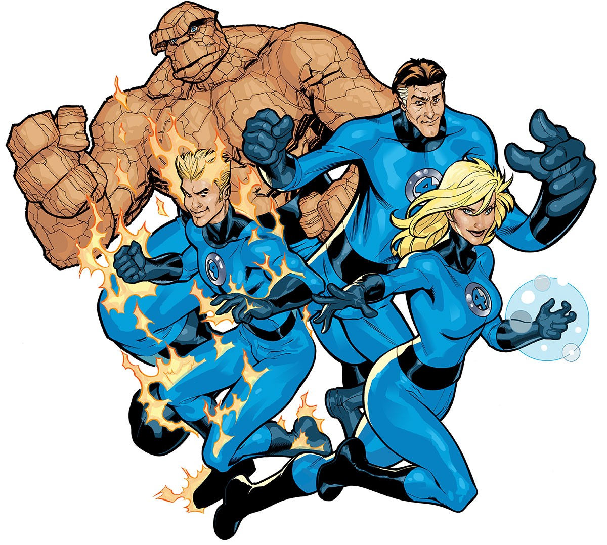 The Fantastic Four – 500ish Words