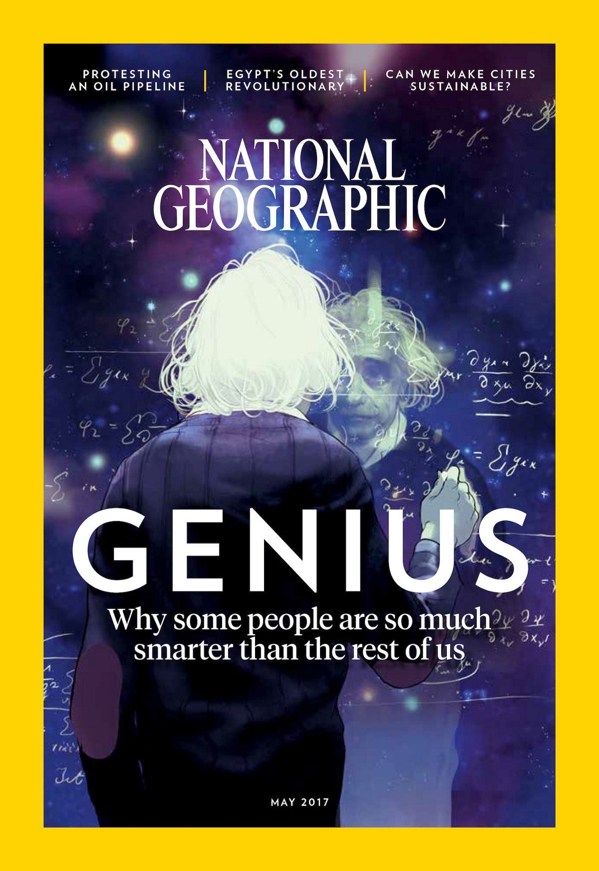 d609a83b5 Cover of National Geographic magazine's May 2017 issue. (Credit: National  Geographic)