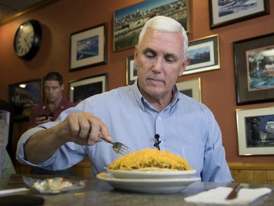 Colbert Knows the Real Reason Mike Pence Wont Eat Alone