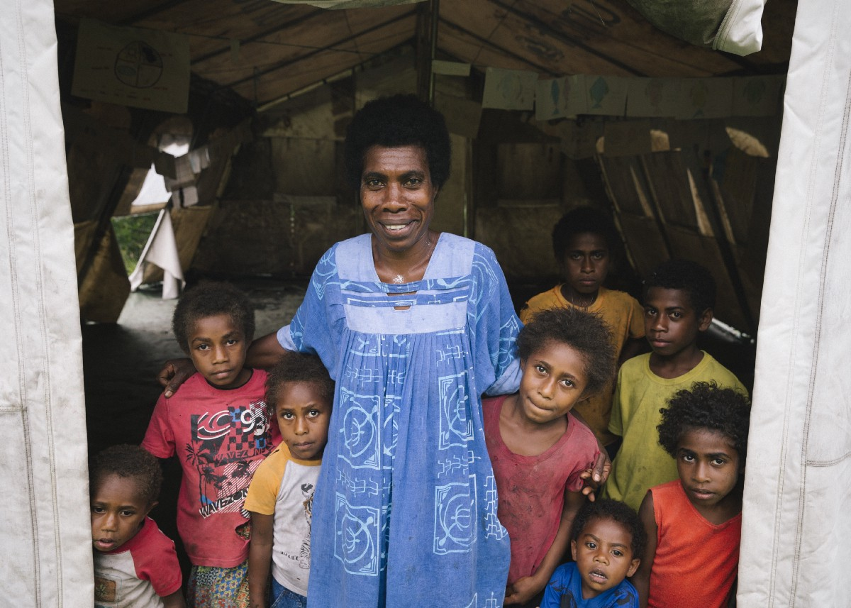 Elsie Nambri is a teacher and community activist on Vanuatu. / USAID
