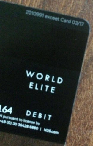 Call Citi Card >> The N26 Black card might not provide exactly what you expect