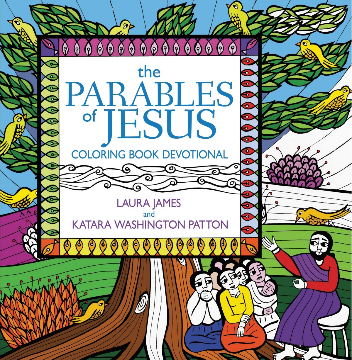 """A Review of """"The Parables of Jesus"""" Colouring Book Devotional"""