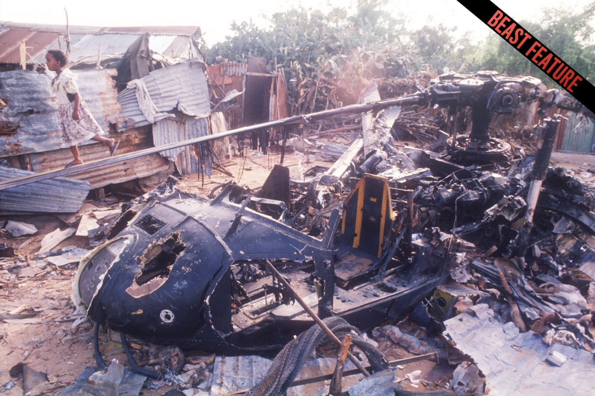Black Hawk Down- Never before seen footage of America s battle in Battle of mogadishu 1993 photos