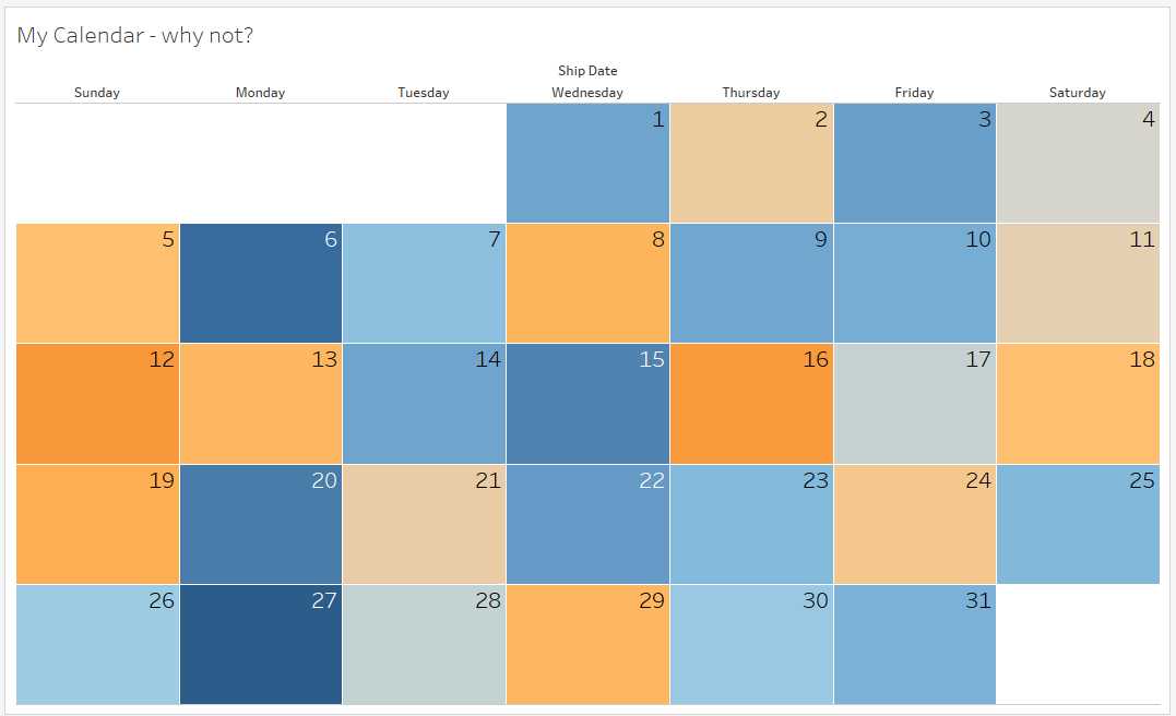 tableau calendar leon agatić medium