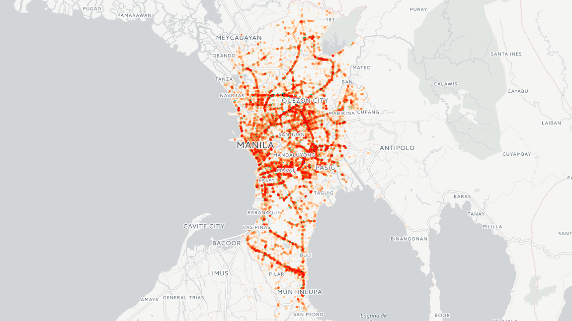 Mapping Traffic Accidents In Metro Manila Miguell Malacad Medium