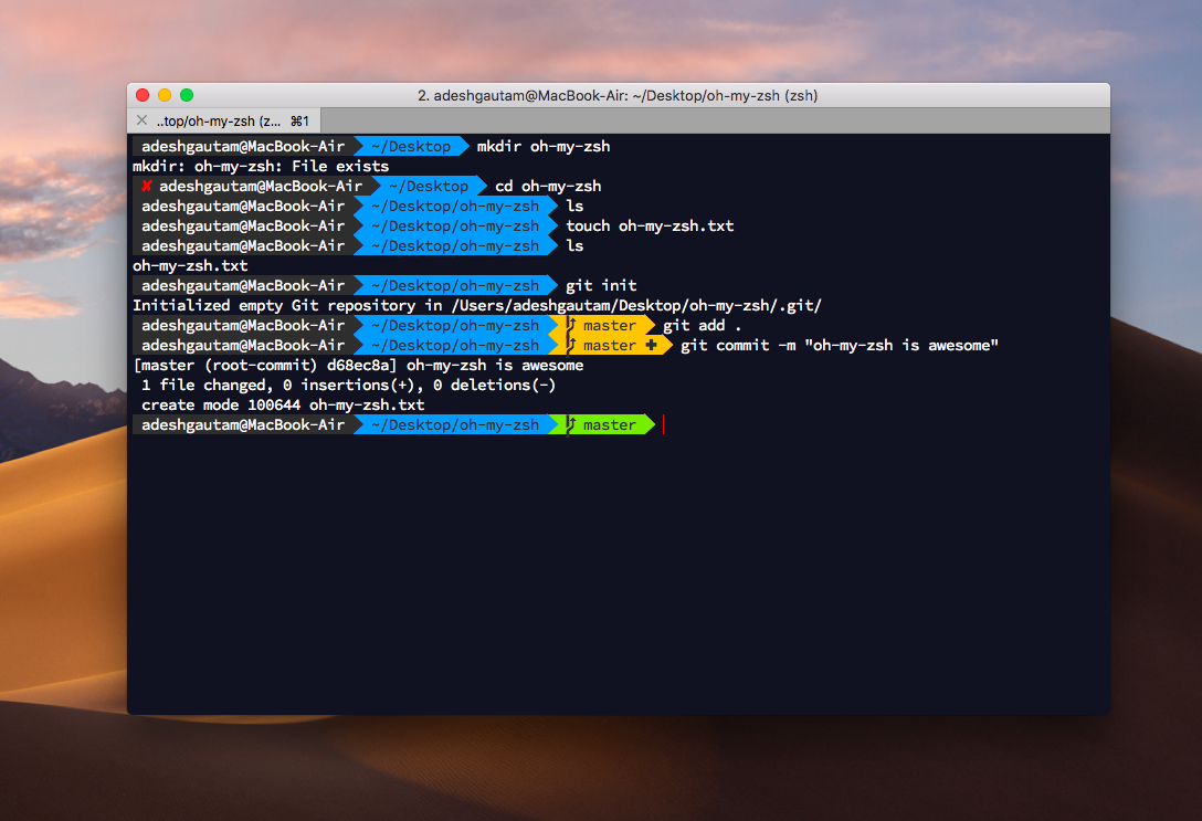 Power Up Your Terminal Using Oh My Zsh Iterm2 The