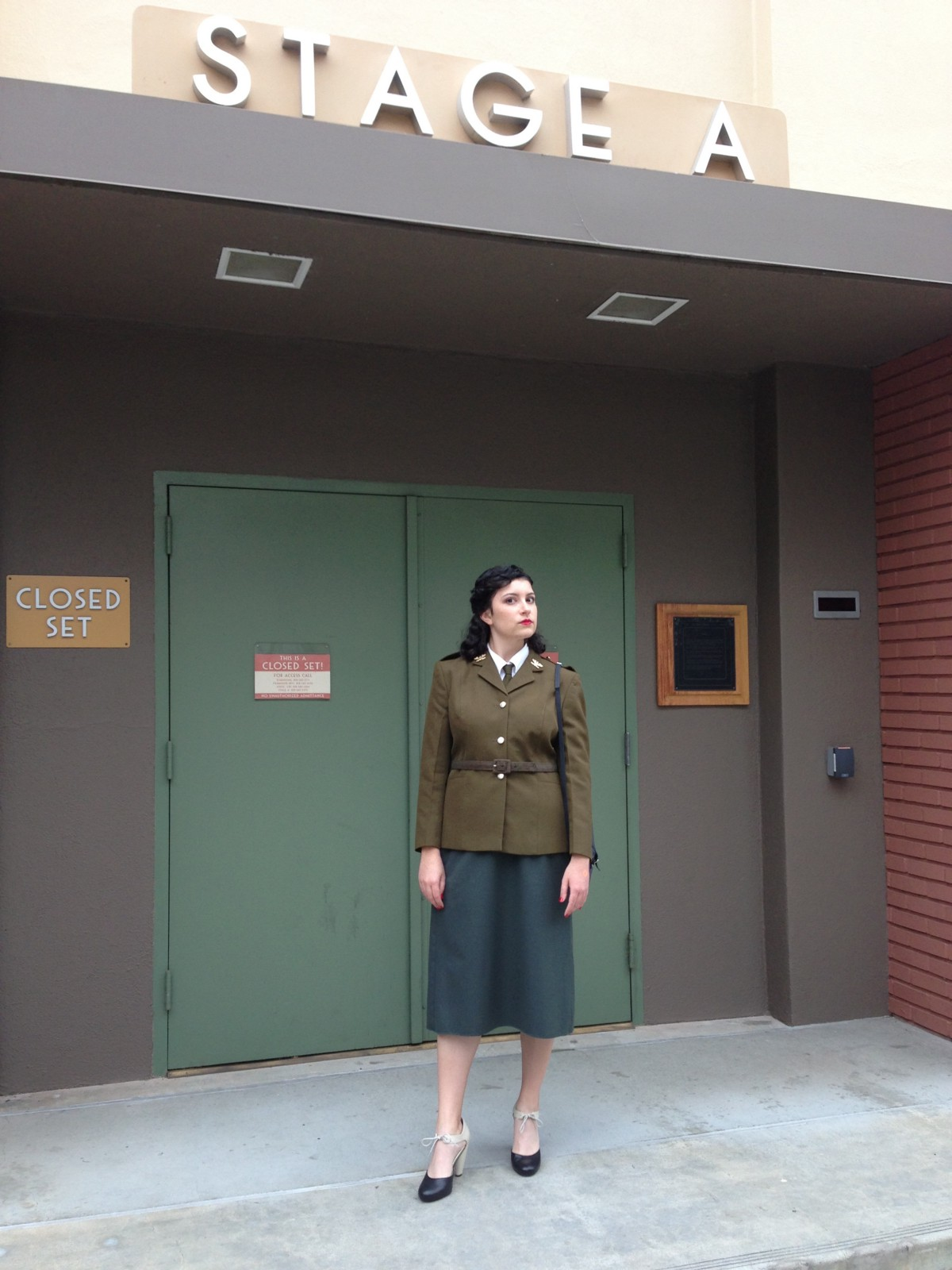 three years ago i dressed up as agent carter to enter the disney studio lot halloween costume contest id spent the previous week scouring vintage stores