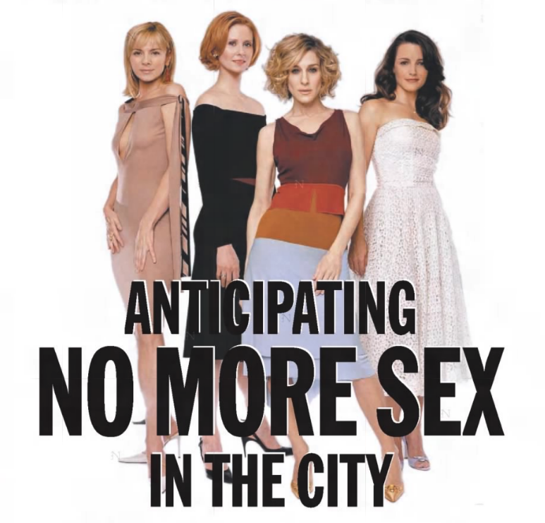 Where does carrie live in sex and the city position lying
