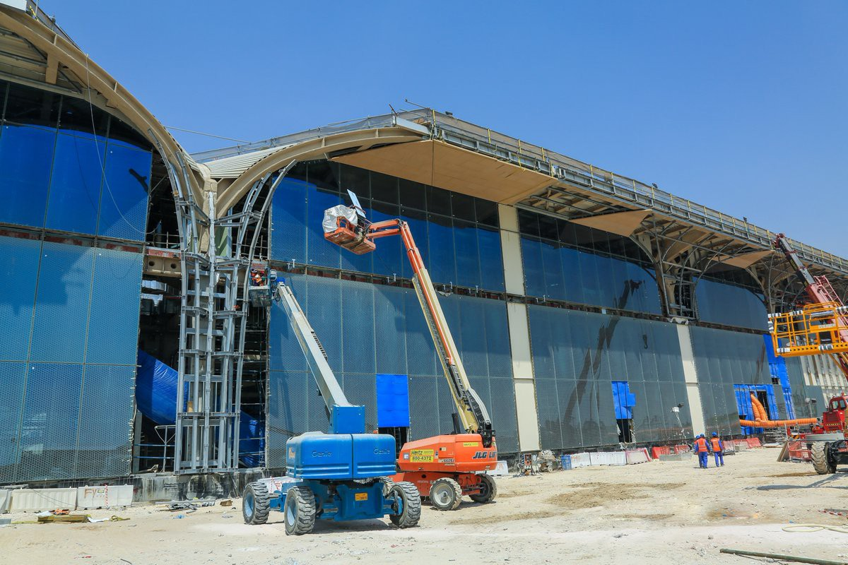 Qatar S First Metro Stations Are Taking Shape Doha News