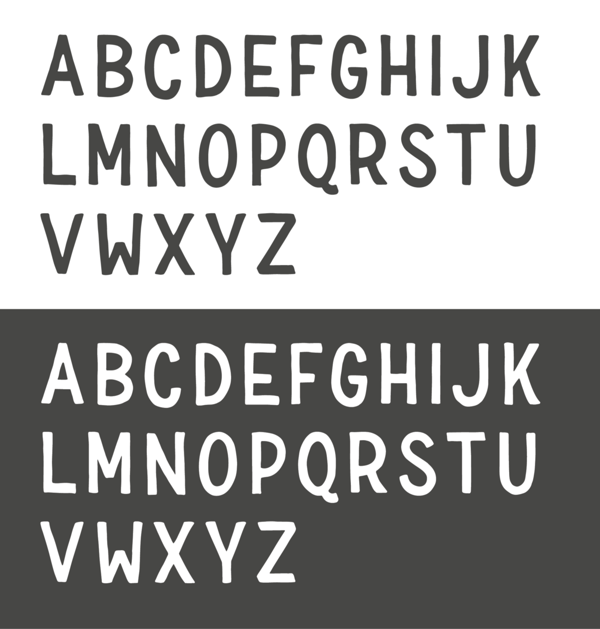 How we designed a typeface for our brand building creative letterforms and a sampling of symbols diacritics buycottarizona