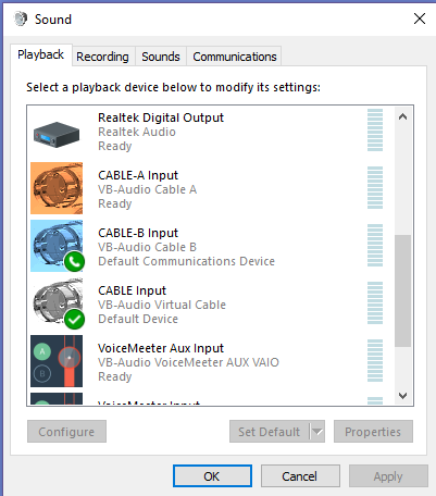 nvidia virtual audio device not working