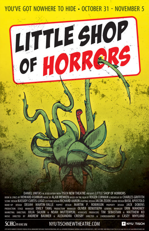 Tisch New Theatre S Little Shop Of Horrors Is Scary Fun