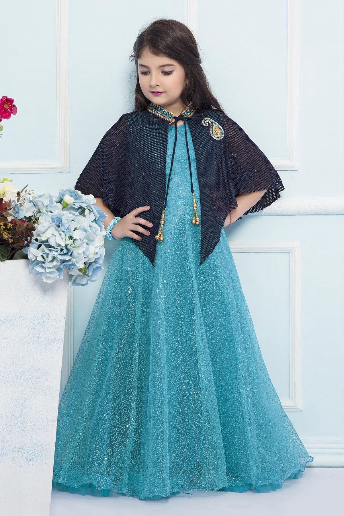 Indian Designer Raksha Bandhan Kids Wear Collection for Girls